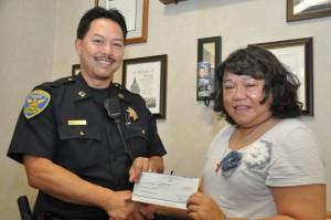 NAALEC contribution to the SFPD Ofc Bryan Tuvera Memorial